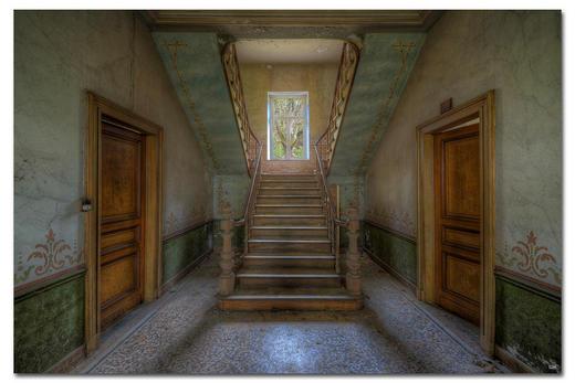 """Architektur BILD """"ADORNMENTS OF THE PAST"""" - Multicolor, Basics, Holzwerkstoff/Kunststoff (300/200cm) - Wiedemann"""