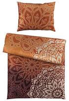 BETTWÄSCHE Satin Lila, Orange 135/200 cm - Lila/Orange, Design, Textil (135/200cm) - Esposa