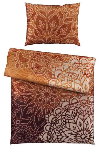 POSTELJINA - narančasta/ljubičasta, Design, tekstil (135/200cm) - Esposa