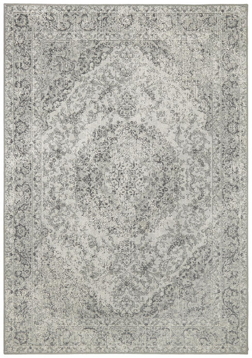 VINTAGE-TEPPICH - Grau, LIFESTYLE, Textil (67/130cm) - Dieter Knoll