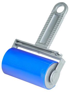 KLÄDVÅRDSRULLE - vit/blå, Basics, plast (10cm)