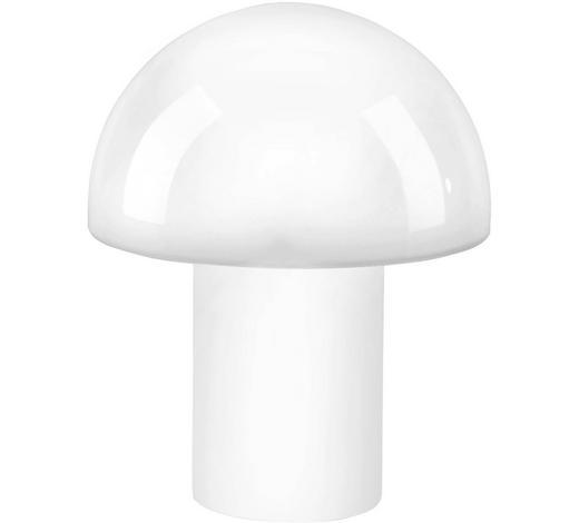 LED-TISCHLEUCHTE - Opal, Design, Glas (22/22/27cm)