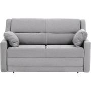 SCHLAFSOFA in Textil Grau - Schwarz/Grau, KONVENTIONELL, Kunststoff/Textil (152/88/91cm) - Sedda