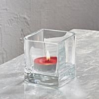 VASE 10 cm - Klar, Basics, Glas (10cm) - Leonardo