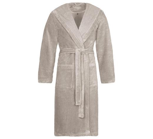 BADEMANTEL M  - Grau, Basics, Textil (Mnull) - Vossen
