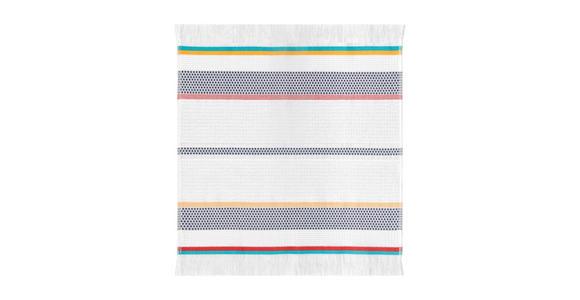 GESCHIRRTUCH-SET 2-teilig Multicolor, Weiß  - Multicolor/Weiß, KONVENTIONELL, Textil (50/50cm) - Esposa