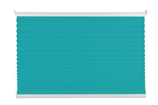 PLISSEE  halbtransparent   100/130 cm - Weiß, Basics, Textil (100/130cm) - Homeware