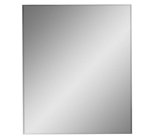 SPIEGEL 63/75/2 cm - Klar/Eichefarben, Natur, Glas/Holzwerkstoff (63/75/2cm) - Voleo