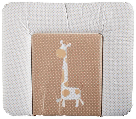 WICKELAUFLAGE FUNNY ANIMALS - Braun/Weiß, Basics, Kunststoff (85/72cm) - My Baby Lou