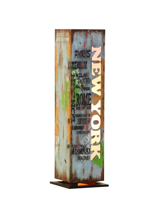 DEKORATIVNA SVJETILJKA - višebojno, Design, metal (33/114/33cm) - LANDSCAPE