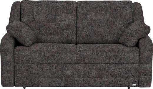 SCHLAFSOFA in Textil Braun - Schwarz/Braun, KONVENTIONELL, Kunststoff/Textil (158/88/91cm) - Sedda