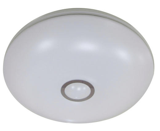 LED-DECKENLEUCHTE - Weiß, KONVENTIONELL, Kunststoff (41cm)