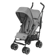 BUGGY SIMBA T4 - GREY MELANGE  Simba T4 - Schwarz/Grau, KONVENTIONELL, Textil/Metall (76/47/109cm)
