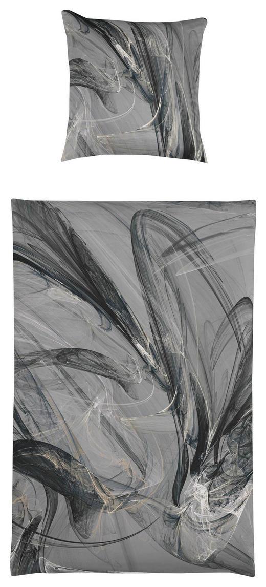 BETTWÄSCHE Interlock-Jersey Anthrazit - Anthrazit, Basics, Textil (27/37/4cm) - Estella