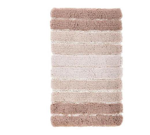 KOBEREC DO KOUPELNY, 60/100 cm, béžová - béžová, Konvenční, textil/umělá hmota (60/100cm) - Kleine Wolke