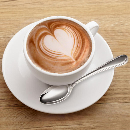 Kaffee Glasbild