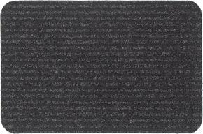 DÖRRMATTA - antracit, Klassisk, textil/plast (40/60cm) - Boxxx