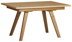 ESSTISCH Wildeiche furniert rechteckig Eichefarben  - Eichefarben, KONVENTIONELL, Holz (130/90/75cm) - Venda