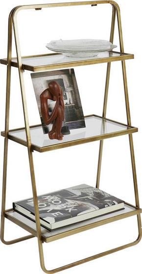 HYLLA - mässingfärg, Design, metall (58/106/33cm) - Ambia Home