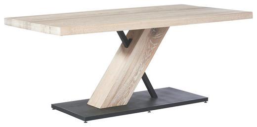 ESSTISCH Asteiche massiv rechteckig Eichefarben, Weiß - Eichefarben/Weiß, LIFESTYLE, Holz/Metall (100/180/77cm) - Musterring