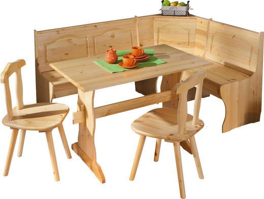 ECKBANKGRUPPE Kieferfarben - Kieferfarben, LIFESTYLE, Holz (172/86/50cm) - Carryhome