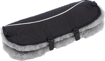 KINDERWAGEN HANDMUFF - Grau, Basics, Textil (51/45cm) - JIMMYLEE