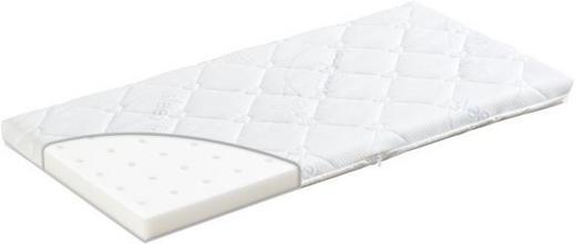 PŘÍDAVNÁ MATRACE - bílá, Basics, textil (90/48/6cm) - TRÄUMELAND
