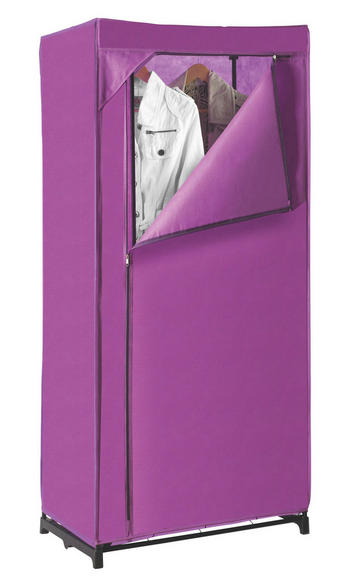 SKŘÍŇ - fialová, Design, kov/textil (75/160/50cm) - CARRYHOME