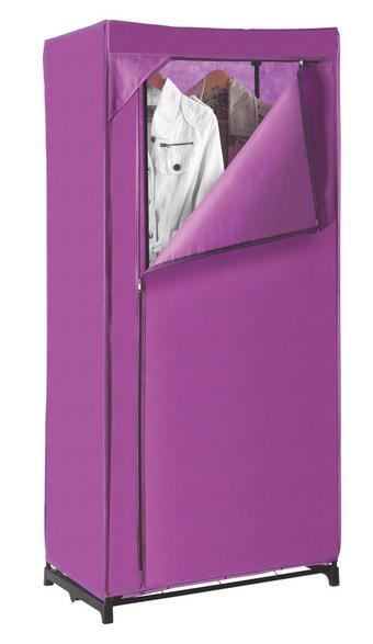 SKŘÍŇ - fialová, Design, kov/textil (75/160/50cm) - X-MAS