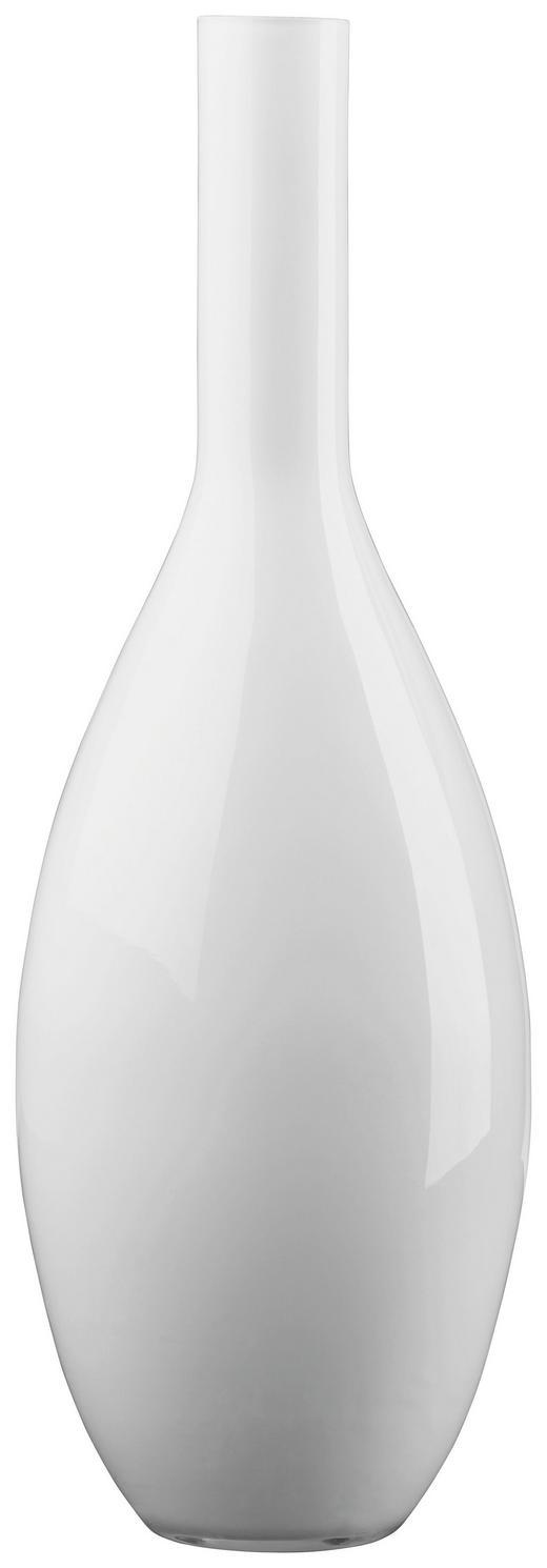 VASE - Weiß, Basics, Glas (14/39cm) - Leonardo