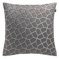 KISSENHÜLLE Grau, Silberfarben 50/50 cm - Silberfarben/Grau, Textil (50/50cm) - Joop!