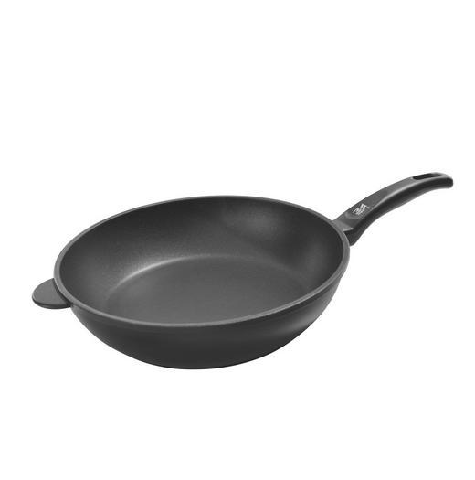 PFANNE 28 cm - Schwarz, Basics, Metall (28cm) - WMF
