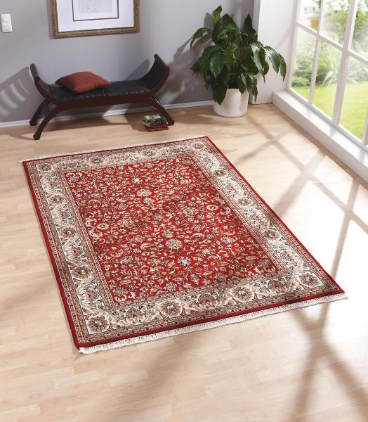 ORIENTALISK MATTA - röd, Klassisk, textil (120/180cm) - ESPOSA