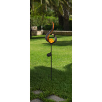 SOLARLEUCHTE - Bronzefarben, LIFESTYLE, Glas/Metall (90cm) - Boxxx