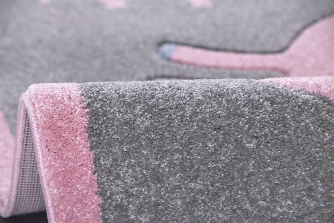 KINDERTEPPICH  Silberfarben  120/180 cm - Silberfarben, Textil (120/180cm)