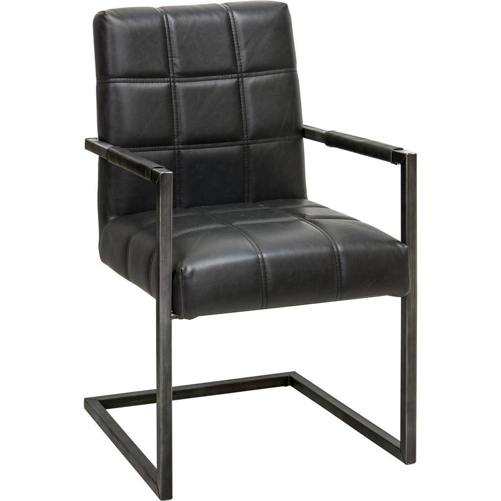 Ambia Home Armlehnstuhl in schwarz