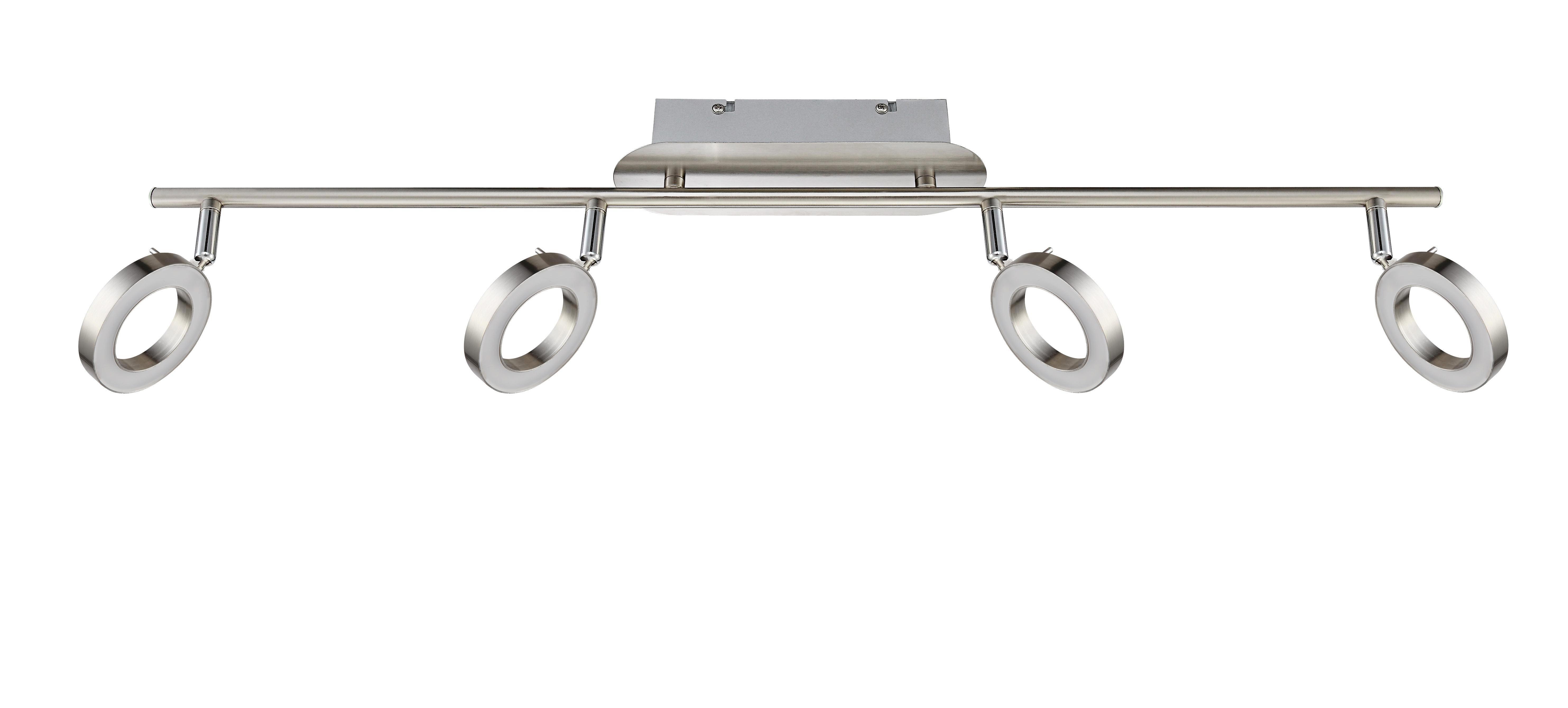 LED SVÍTIDLO - barvy niklu, Design, kov (8/18,5/80cm) - NOVEL