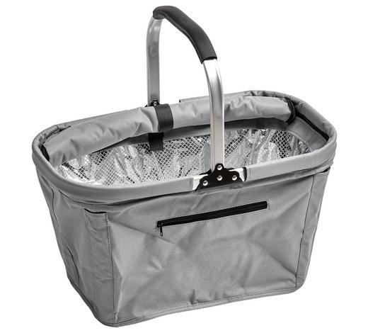 EINKAUFSKORB - Grau, Basics, Kunststoff/Metall (50/27/27cm) - Boxxx