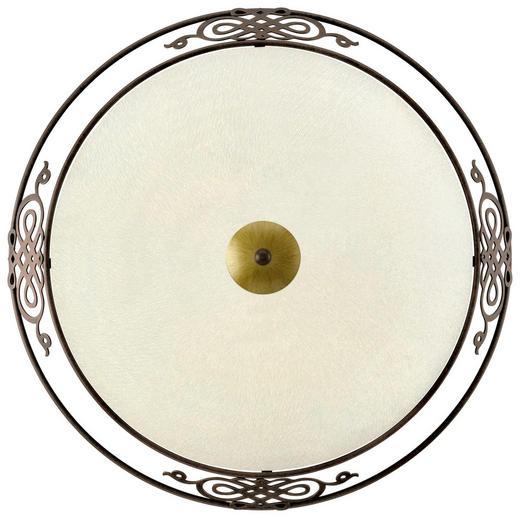 DECKENLEUCHTE - Beige/Goldfarben, LIFESTYLE, Glas/Metall (47,5cm)
