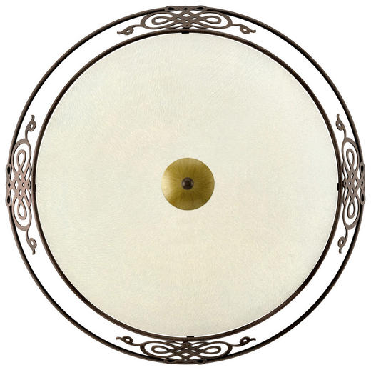 DECKENLEUCHTE - Goldfarben/Braun, LIFESTYLE (47,5cm)