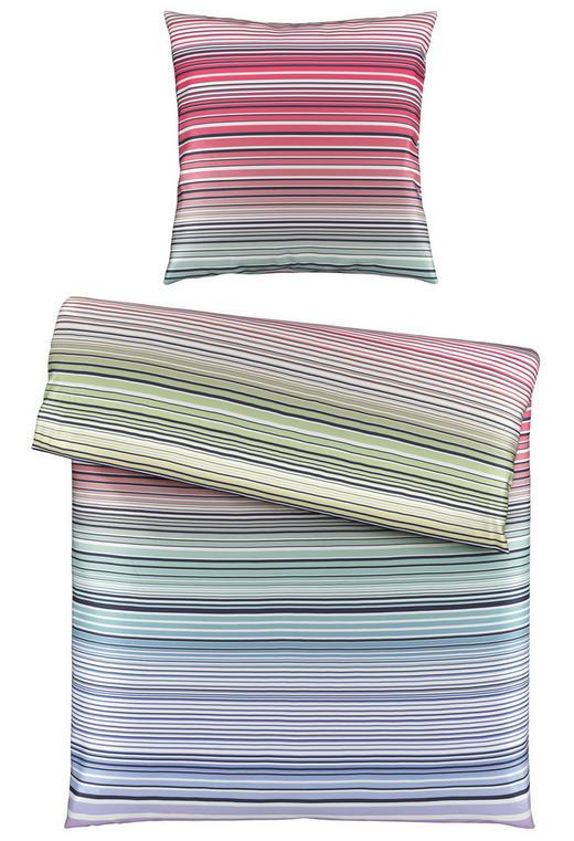 BETTWÄSCHE Satin Blau, Multicolor 135/200 cm - Blau/Multicolor, Design, Textil (135/200cm) - Esposa