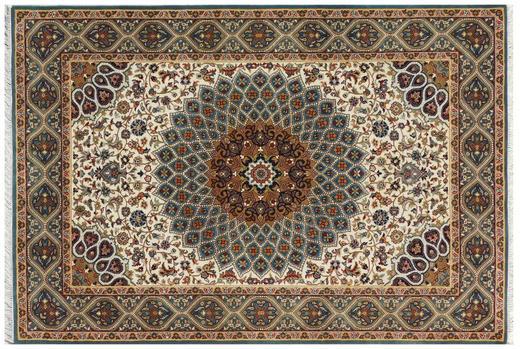 ORIENTTEPPICH 140/200 cm - Blau/Creme, LIFESTYLE, Textil (140/200cm) - Esposa