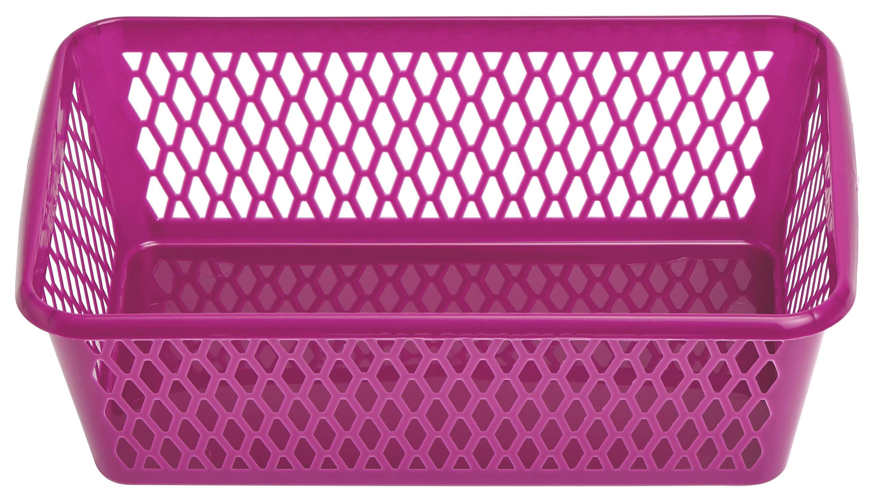 KOŠARA - ljubičasta, Konvencionalno, plastika (25/8/15,5cm) - PLAST 1