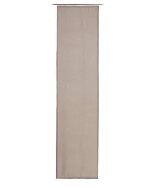 FLÄCHENVORHANG   blickdicht  60/245 cm - Taupe, Basics, Textil (60/245cm)