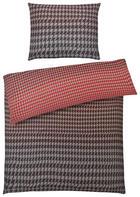 POVLEČENÍ - šedá/červená, Moderní, textil (200/200cm) - S. OLIVER