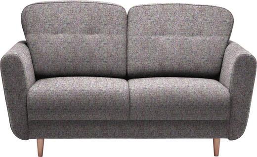 ZWEISITZER-SOFA in Textil Multicolor - Multicolor, Design, Holz/Textil (154/90/93cm) - Hom`in