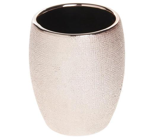 ZAHNPUTZBECHER Keramik - Rosa, Basics, Keramik (8/9,8cm) - Sadena