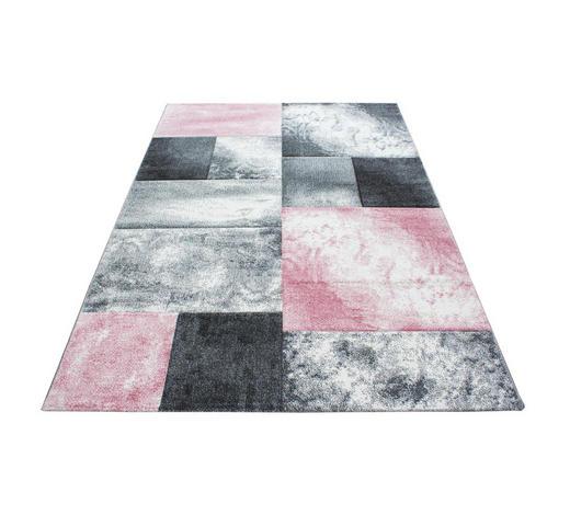 WEBTEPPICH  80/150 cm  Pink   - Pink, KONVENTIONELL, Textil (80/150cm) - Novel
