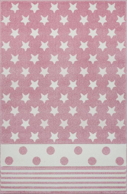 KINDERTEPPICH  160/230 cm  Rosa - Rosa, Textil (160/230cm)