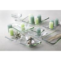 SCHALE - Transparent, Design, Glas (13,20/13,2/7,3cm) - LEONARDO